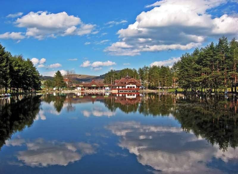 Zlatibor centar - jezero